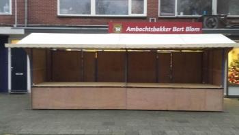 Marktkramen verhuur Stadskanaal en Groningen